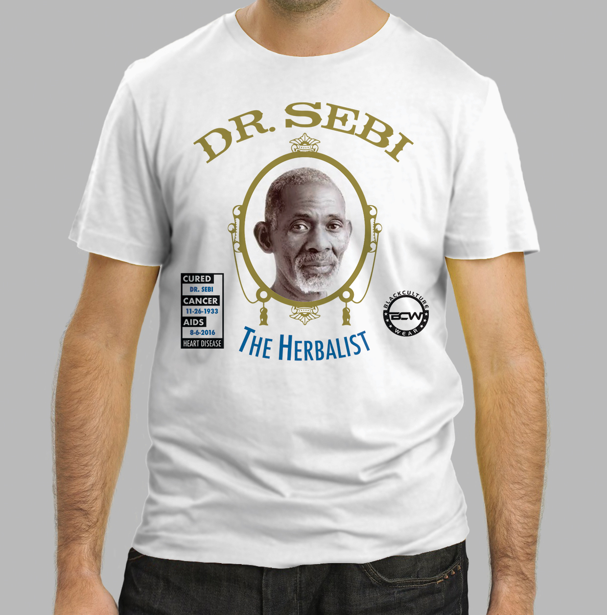 Elegant, Playful T-shirt Design for Black Culture Wear LLC