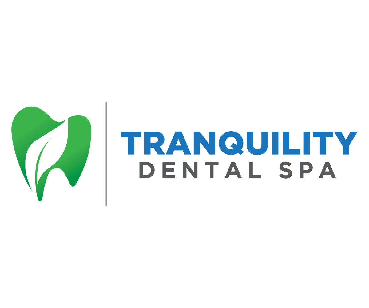 Modern Professional Dental Logo Design For Tranquility Dental Spa