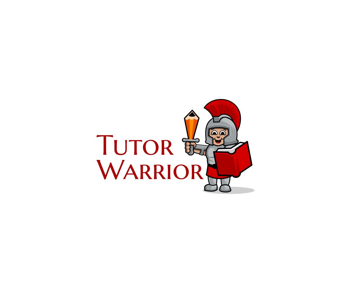 Tutor Warrior Logo Design by VGB