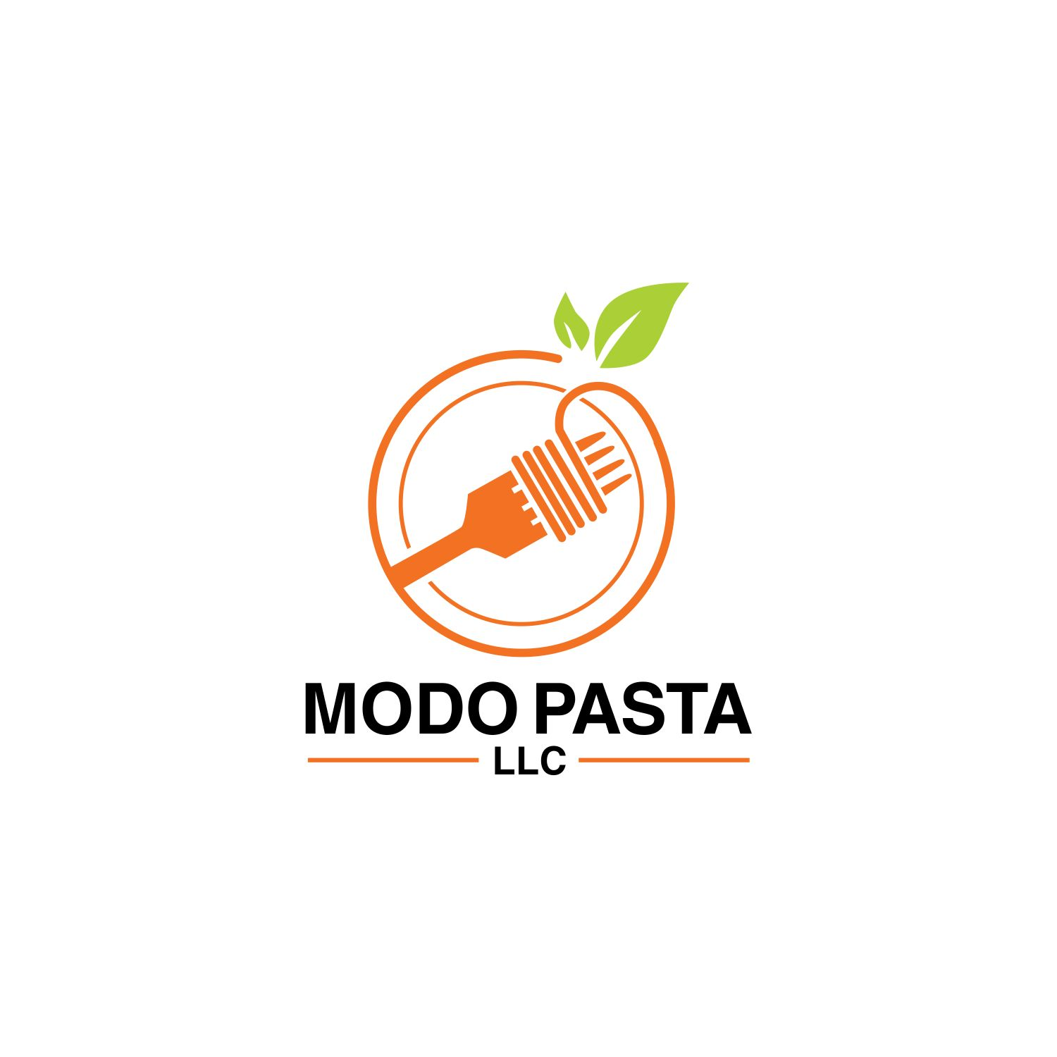 Bold Modern Fast Food Restaurant Logo Design For Modo Pasta Llc By Preatyboymaulana Design 18883360