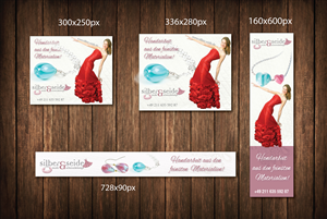 Banner Ad Design by meet007 - Adwords Banner for unique handmade Jewelery
