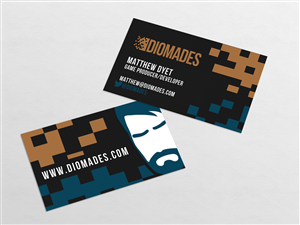 The Get Me Hired As A Game Producer Business Card Design 15