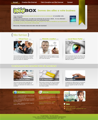Advertising Web Design Theme 54526