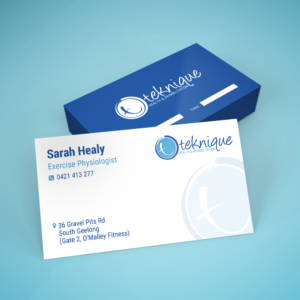 Gym business card design galleries for inspiration exercise physiologist needs business cards business card design by maxo biz reheart Images