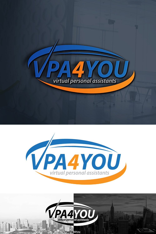 Bold, Masculine Logo Design for VPA4YOU - virtual personal