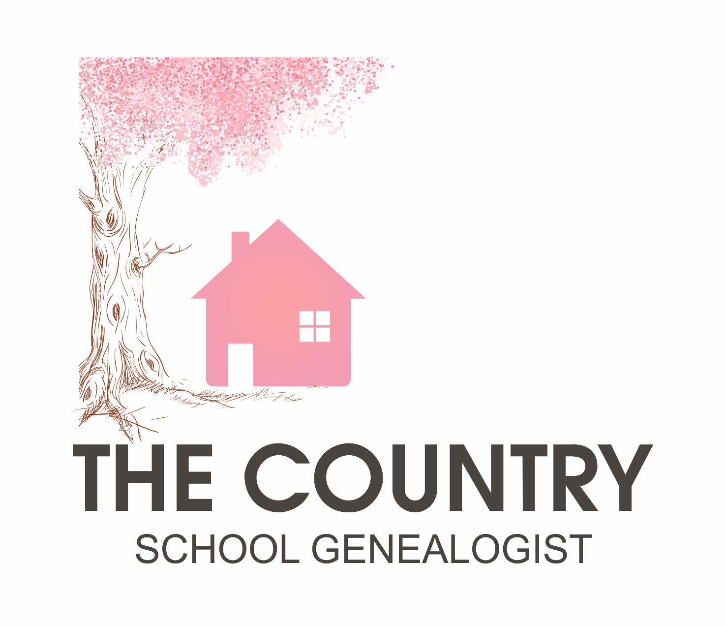 The Country House Company logo design for the country school genealogist by adeikhan