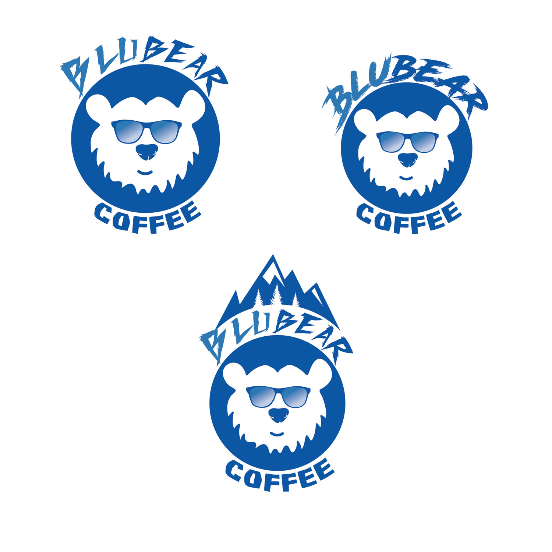 Upmarket Bold Coffee Shop Logo Design For Blubear Coffee By Natachahoskins 2 Design 18977393
