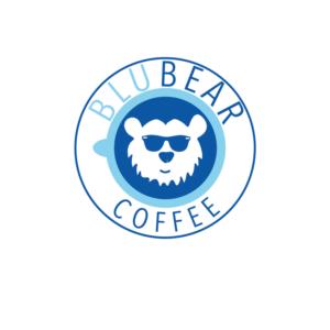 BluBear Coffee | Logo Design by NatachaHoskins 2