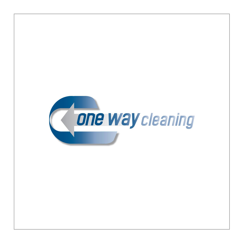 Modern Bold Cleaning Service Logo
