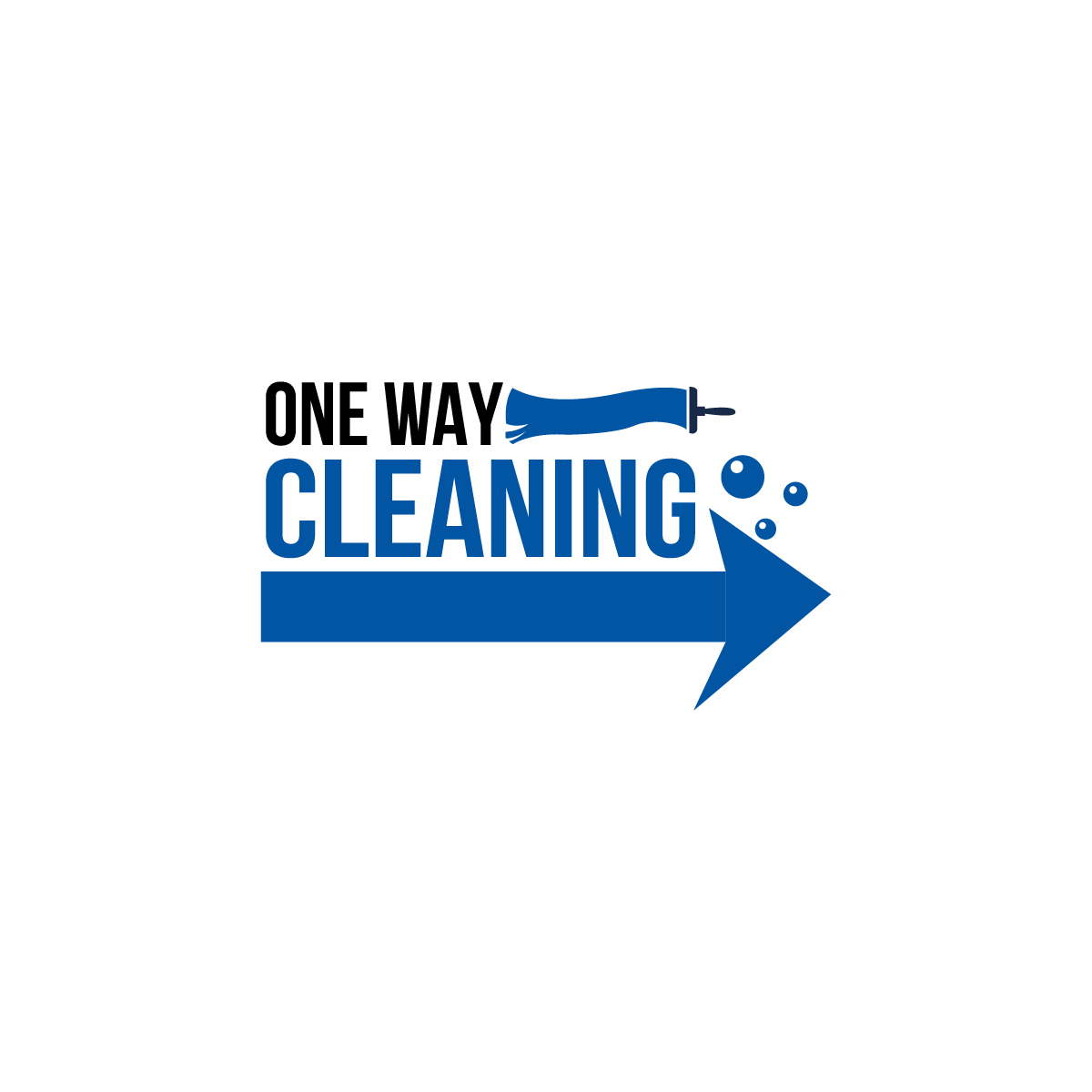 Logo Design By Arrow Designs For One Way Cleaning 19850350