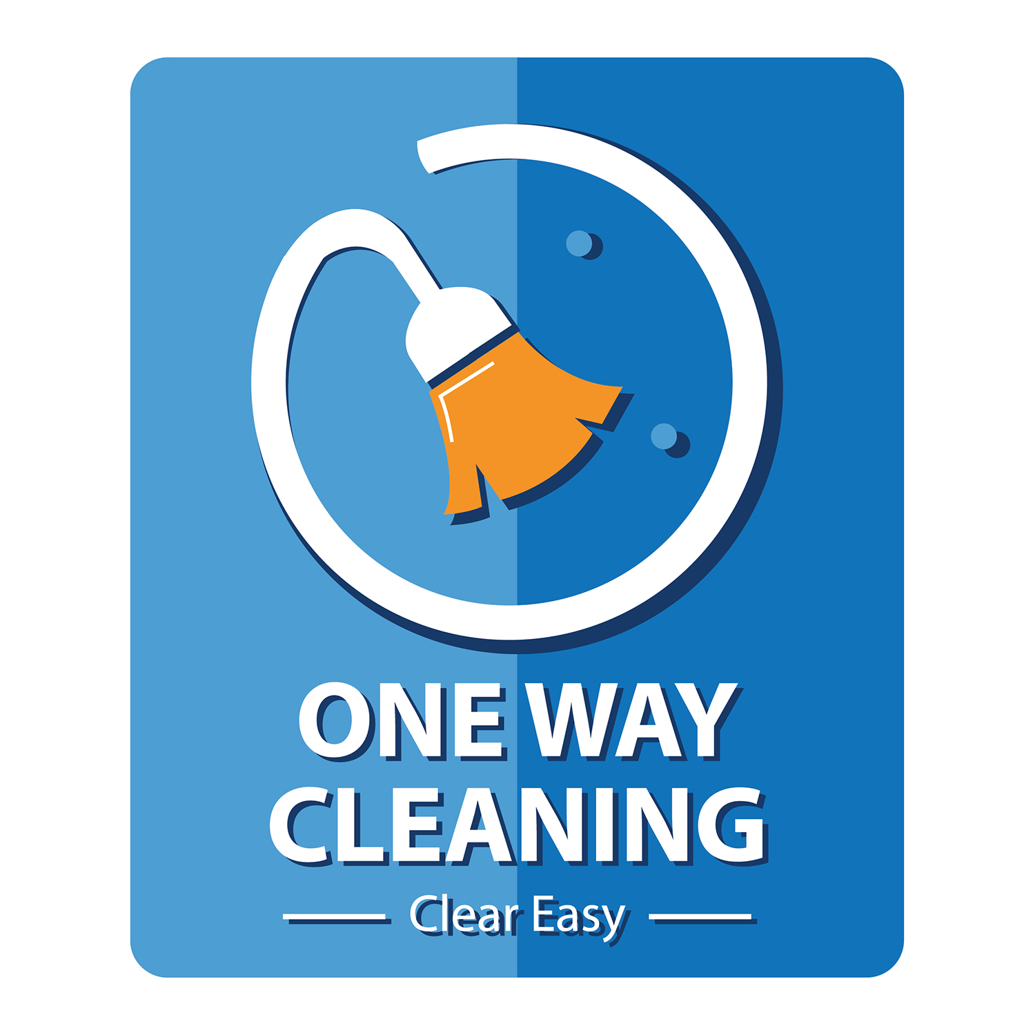 Logo Design By Lasiaf28 For One Way Cleaning 19842889