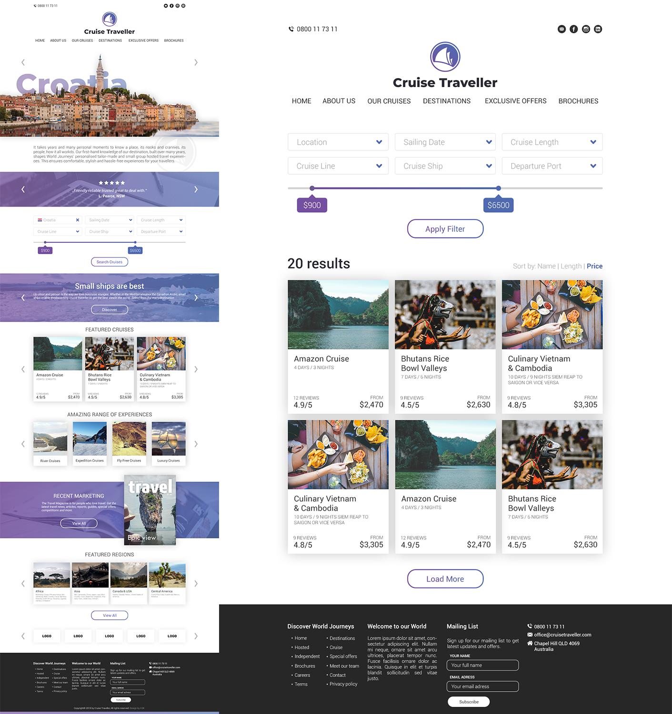 Upmarket Elegant Web Design For A Company By Imh3k Design 18942140
