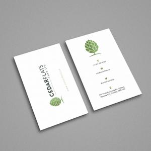 Farm business card designs 90 farm business cards to browse cedar flats hop farm business card design business card design by sandymanme colourmoves
