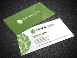 Farm business card designs 90 farm business cards to browse cedar flats hop farm business card design business card design by sandaruwan colourmoves