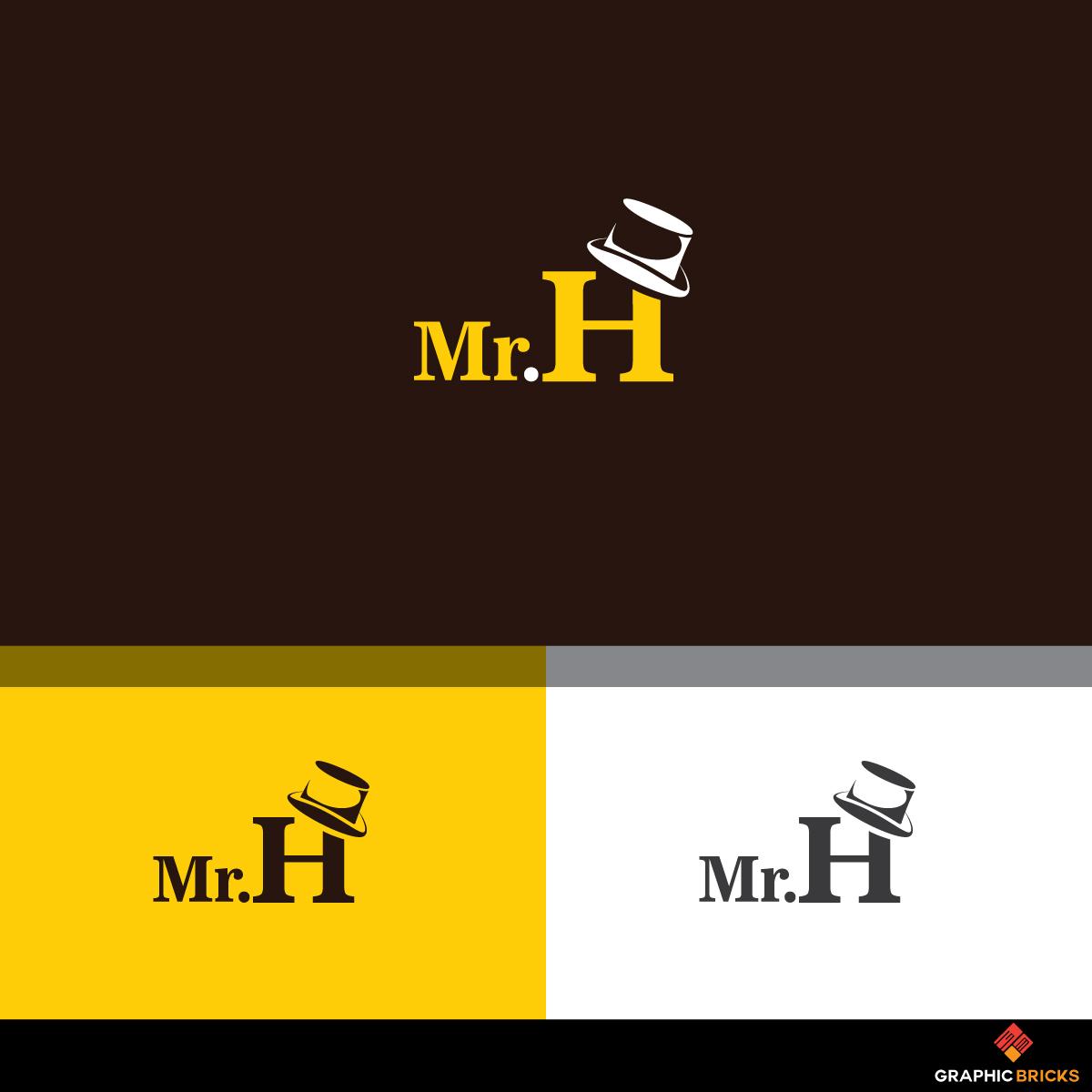 Modern, Upmarket Logo Design for Mr  H or Mister H (Either one works