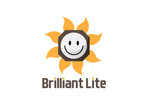 Logo Design job – Brilliant Lite – Winning design by larismanis