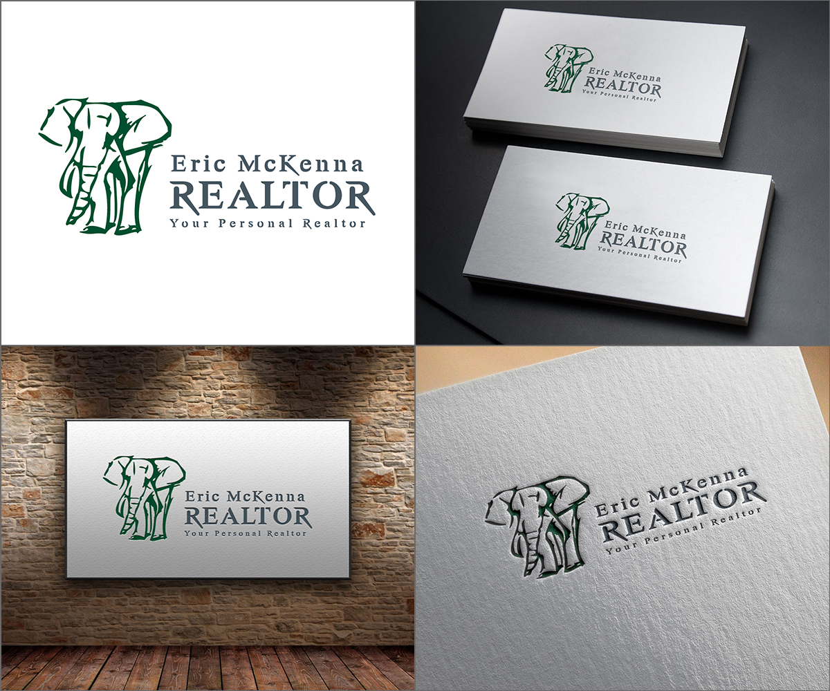 Bold, Professional, Real Estate Agent Logo Design for Eric