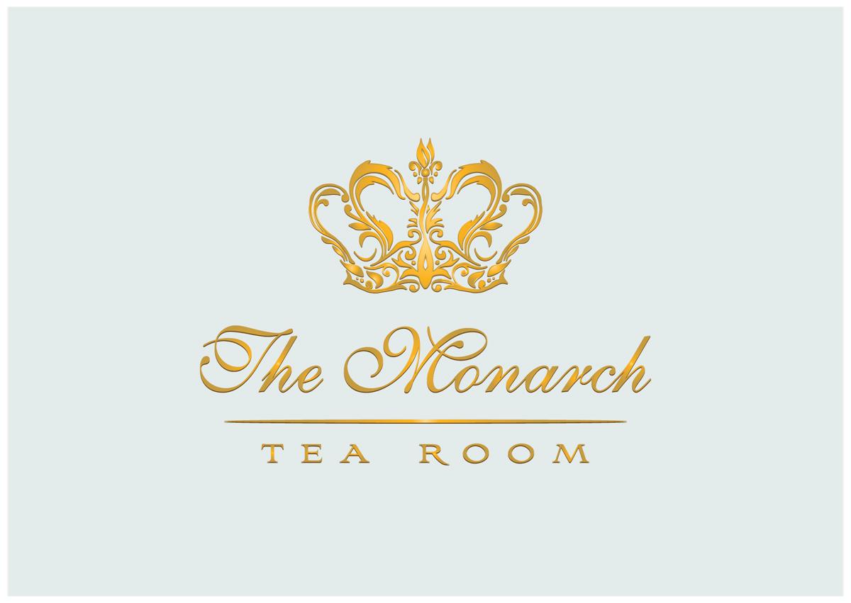 The Monarch Tea Room logo by Ell Doe