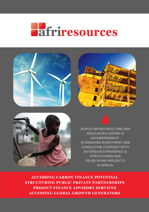 Masculine, Upmarket, Financial Brochure Design for Africa