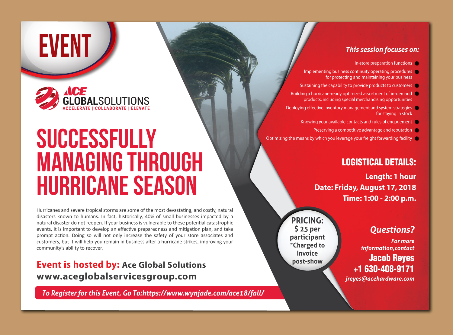 bold modern retail flyer design for a company by shiya india