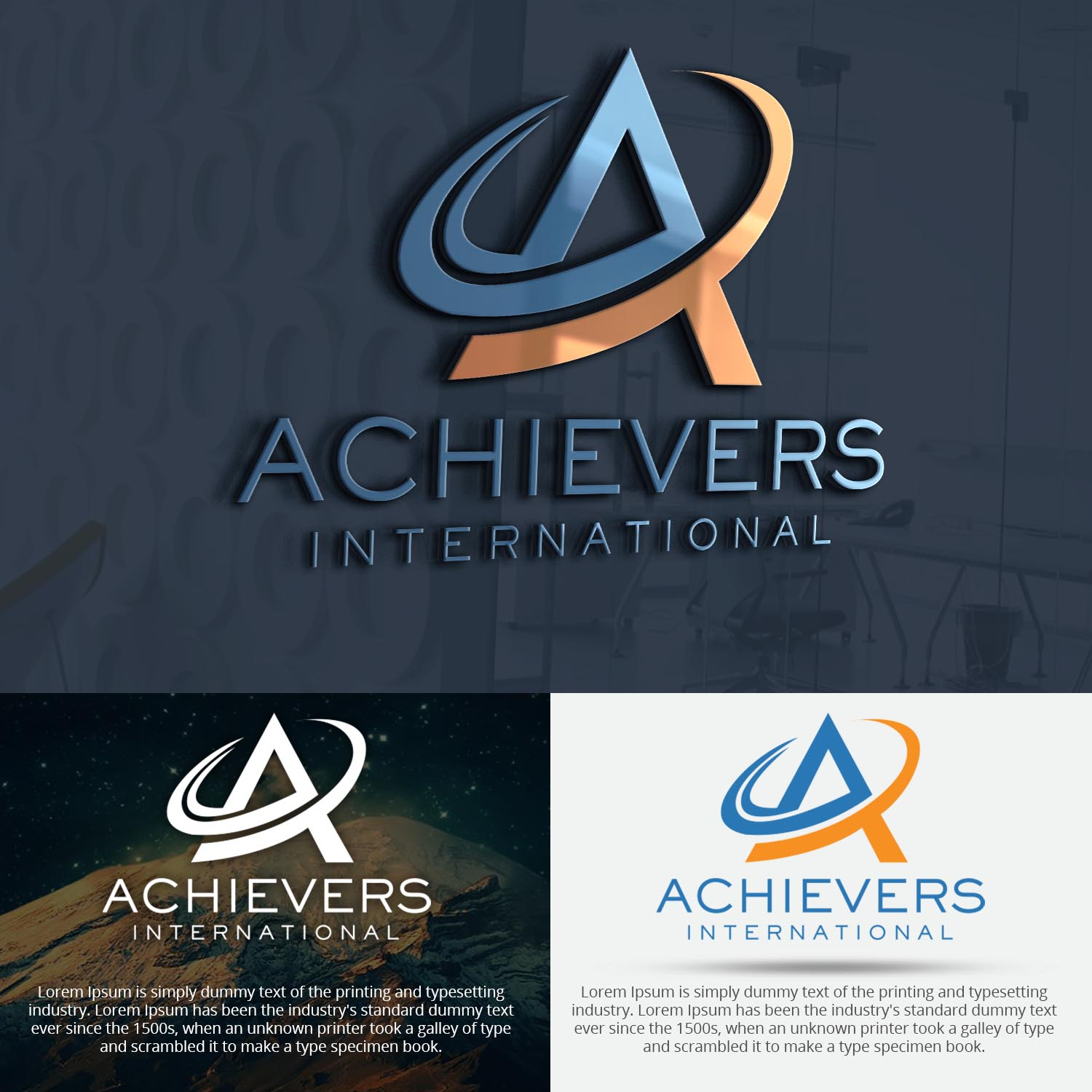 Modern, Professional Logo Design for As per the examples we
