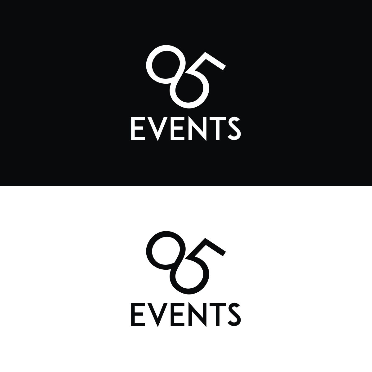 Logo Design for a Trendy Events Business by Kreative Fingers