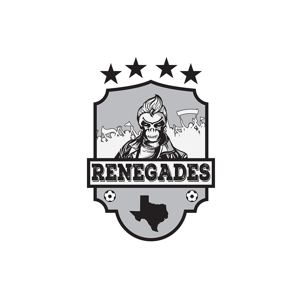 Logo Design for a Texas Renegade Soccer Team by The Design King