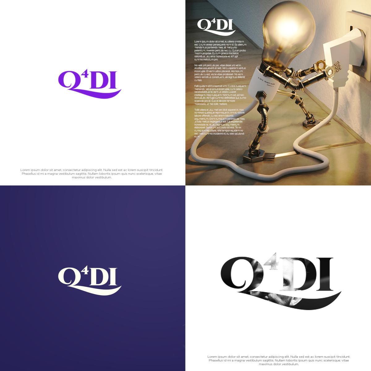 logo design for q4 daily inspiration by novita007 | design #19014482