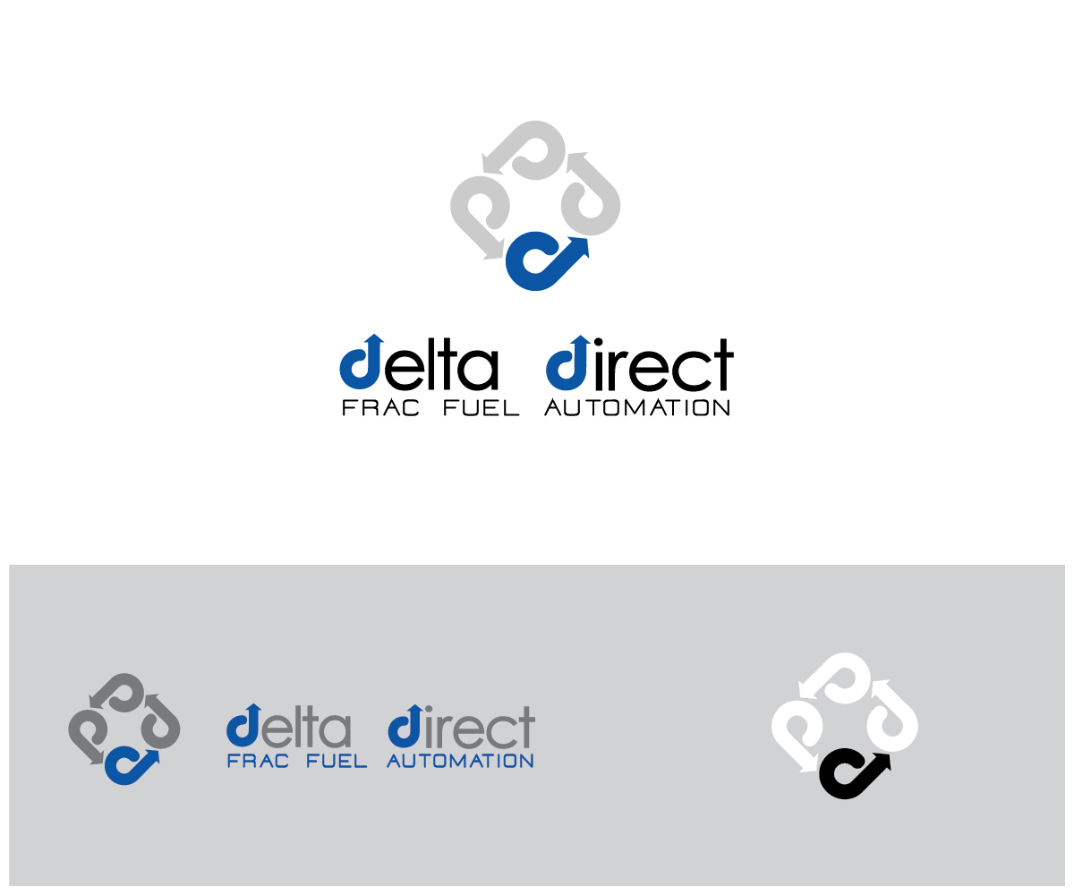 Bold Masculine Oil And Gas Logo Design For Delta Direct By Altera