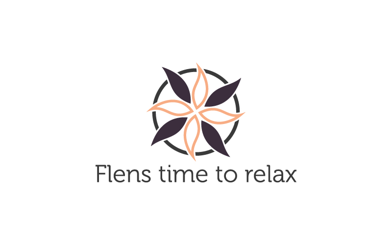 Elegant Playful Logo Design For Flens Time To Relax By Ilovedesign1