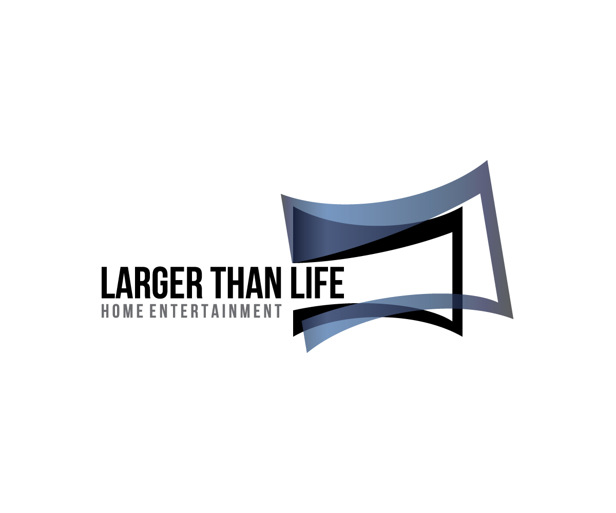 Logo Design For Larger Than Life Home Entertainment By Meygekon
