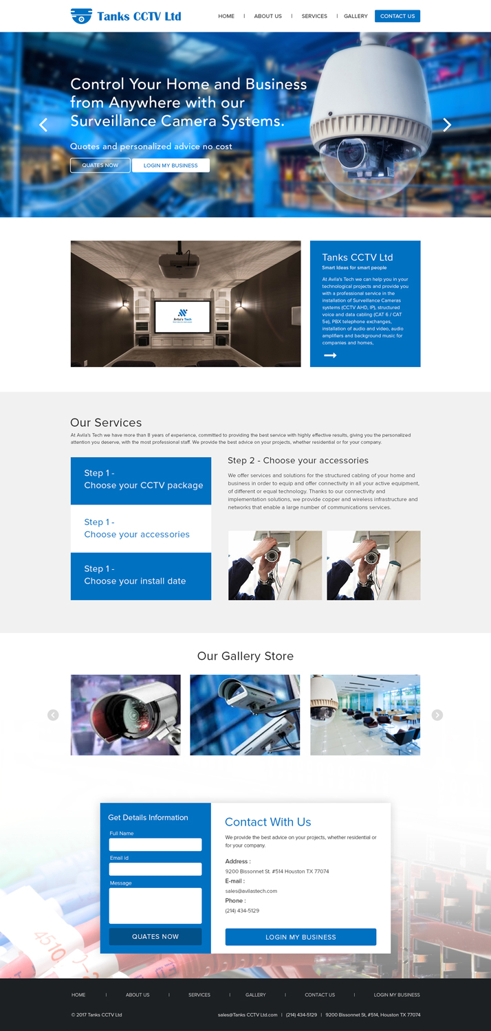 Web Design For A Company By Adveart M Design 19097581