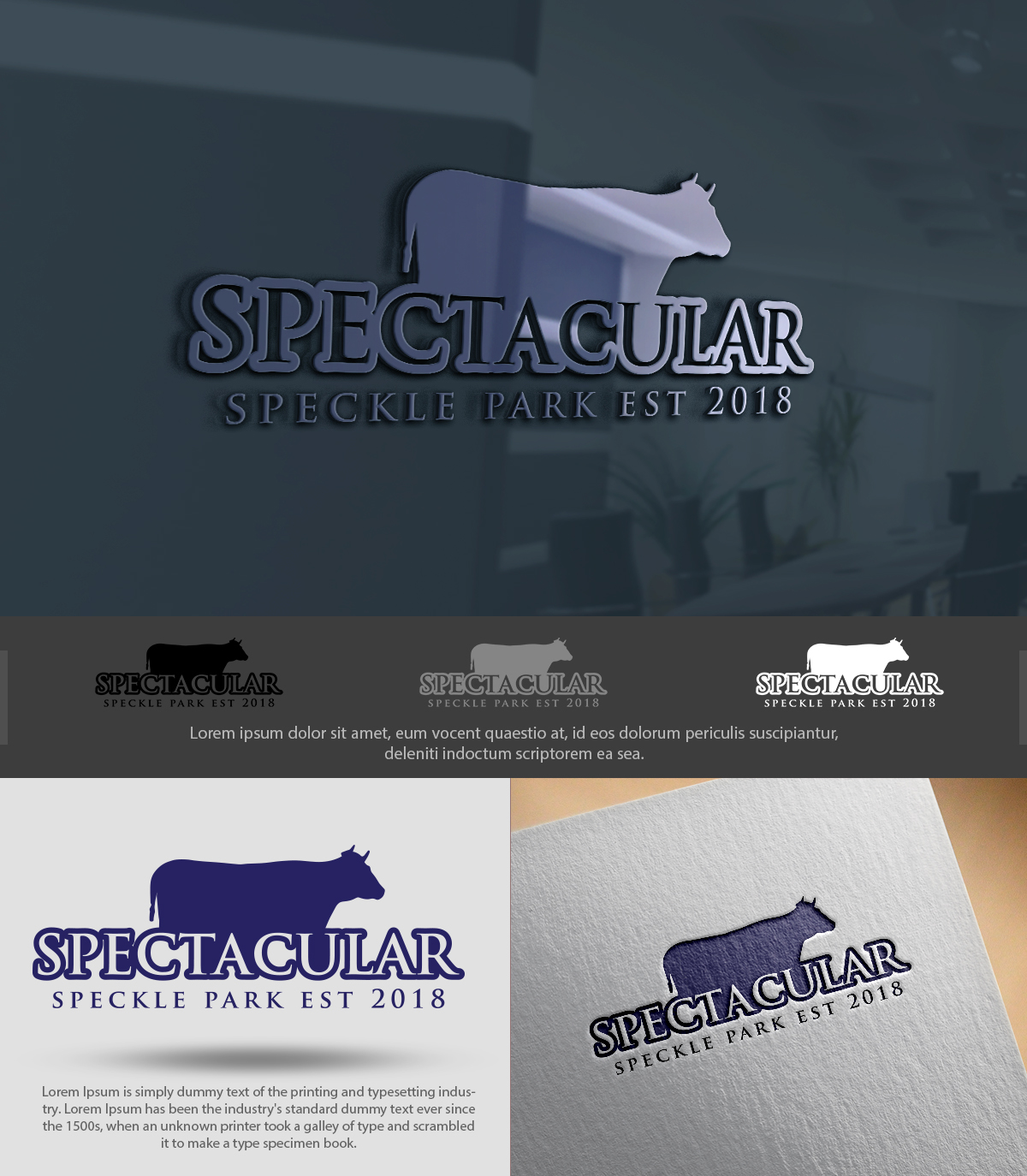 Logo Design for SPECTACULAR SPECKLE PARK EST 2018 by artmarque 2