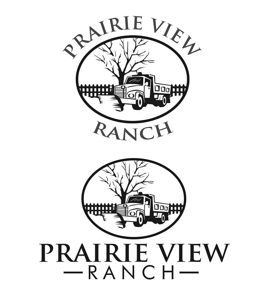 serious professional logo design for prairie view ranch by Window On the Prairie Blog logo design by nildesigns for this project design 19091680