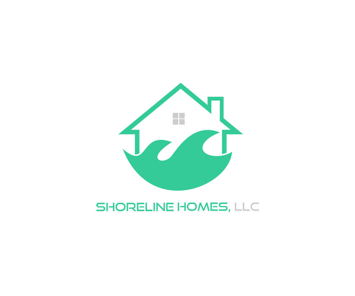 Moderno profesional logo design for shoreline homes llc for Design homes llc