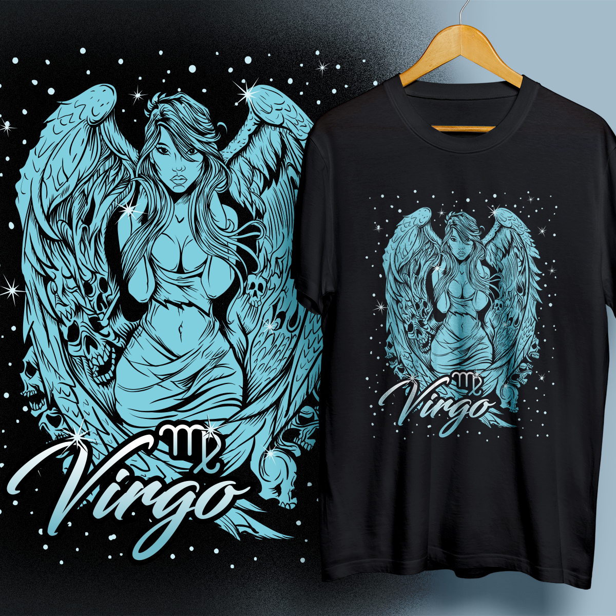 Modern Personable T Shirt Design For Zodiac Fresh By 99gree