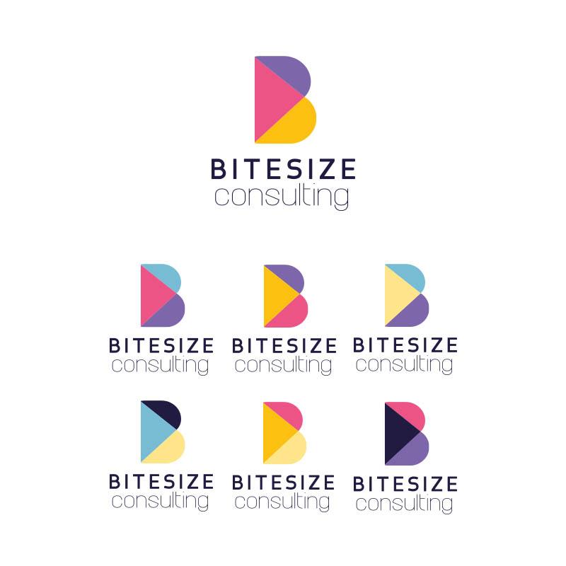 Modern, Bold Logo Design for Bitesize Consulting by Silviagiraldo ...