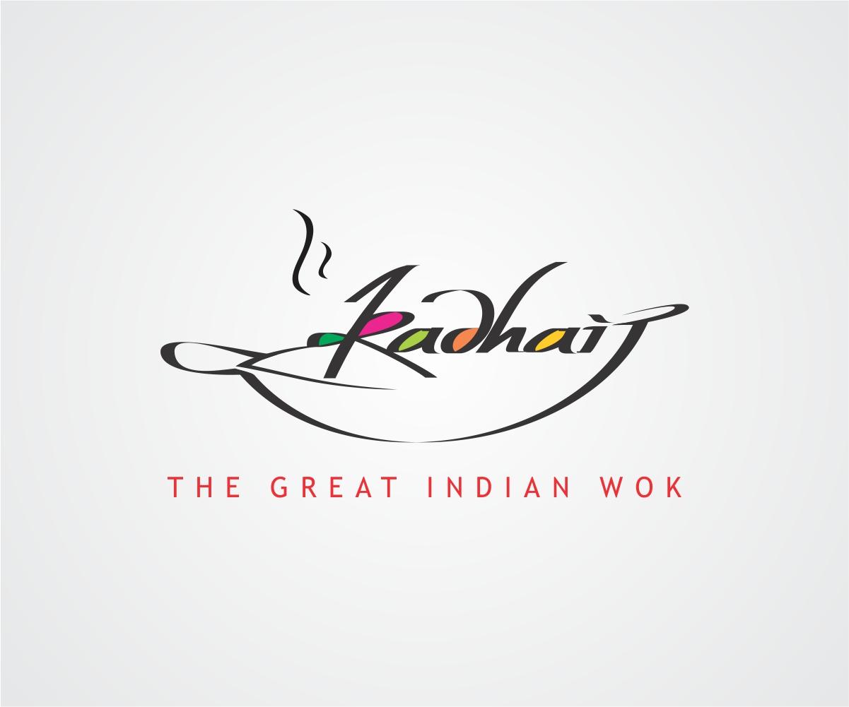 bold playful graphic design logo design for kadhai by j