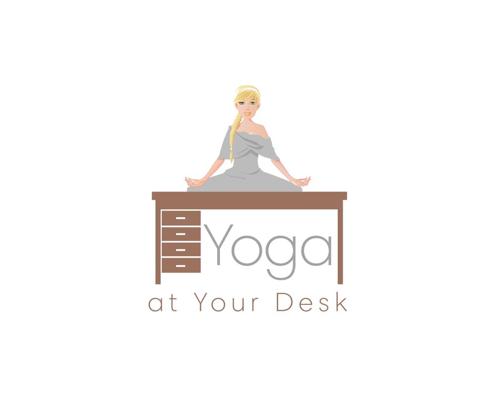 Logo Design For Yoga At Your Desk By Riz Design 19163973