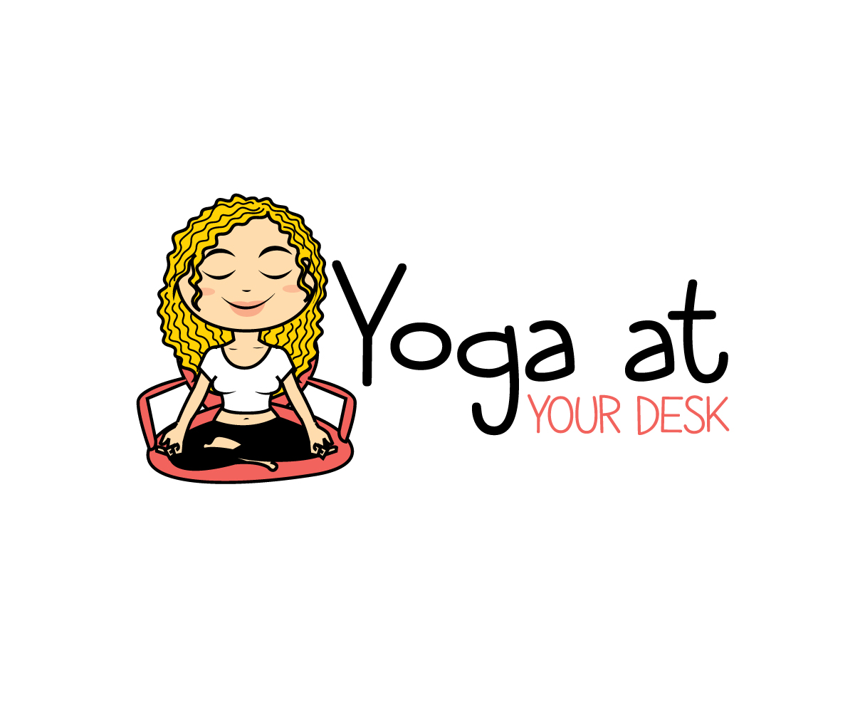 Logo Design For Yoga At Your Desk By Graphicsexpert Design 19130084