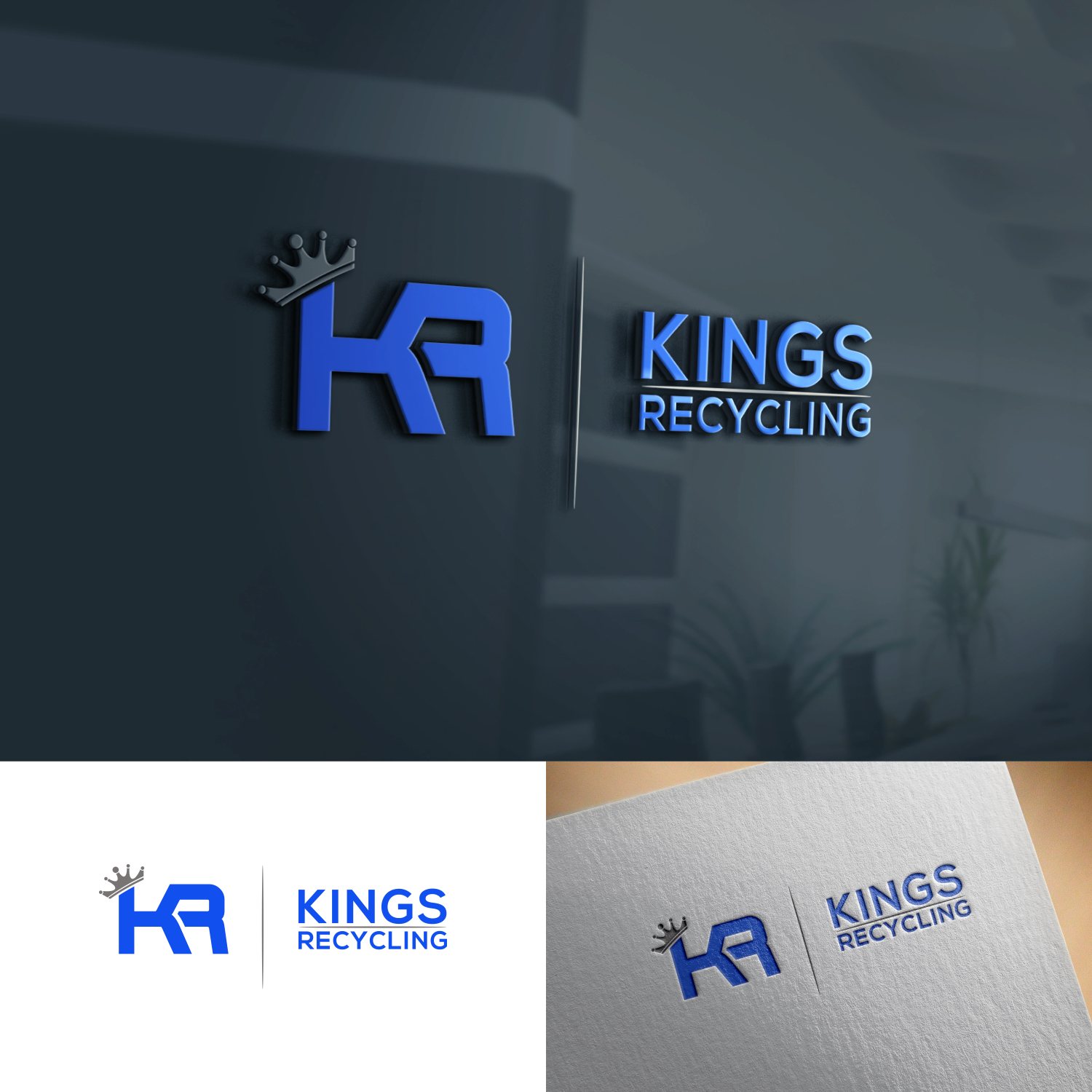 Bold, Modern, Waste Management Logo Design for Kings recycling by