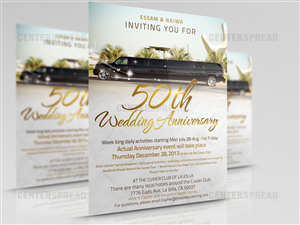 Anniversary Flyer Design By CENTERSPREAD