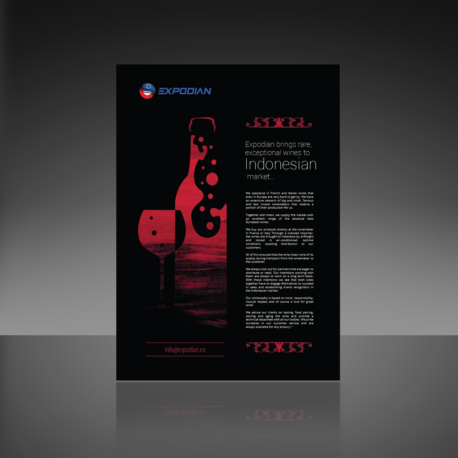 Modern, Upmarket Brochure Design job  Brochure brief for a