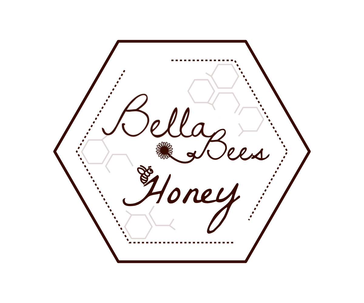 Upmarket, Elegant Logo Design for bella bees honey by Miranda Mtz