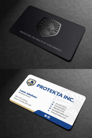 Simple business card design galleries for inspiration simple professional and neat business card design for protekta inc business card design colourmoves
