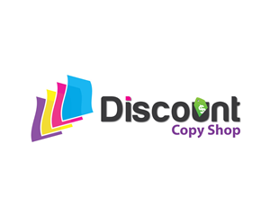 Logo Design job – Discount Copy Shop – Winning design by HLGCreativeTeam