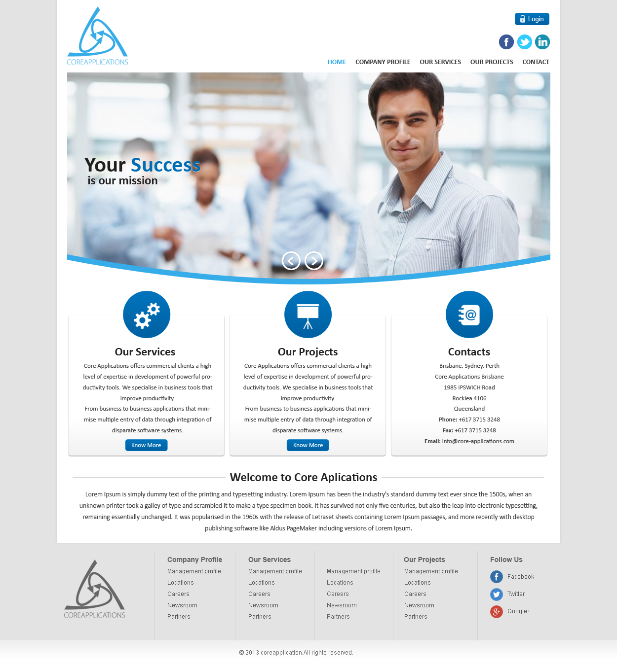 Modern Upmarket Software Web Design For Core Applications By Brajpal Freelance Website Designer Design 2879941