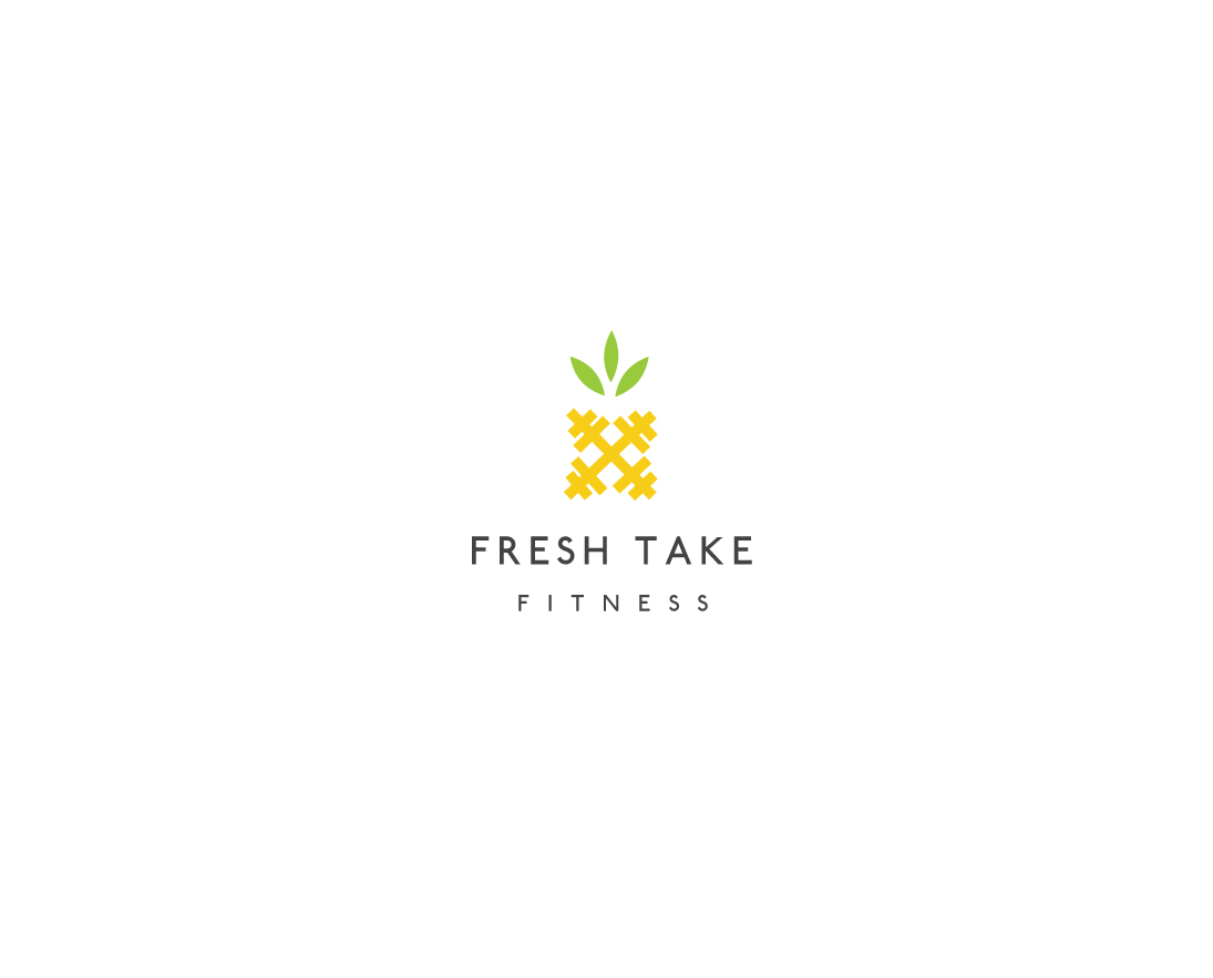 Personable Conservative Fitness Logo Design For Fresh Take Fitness