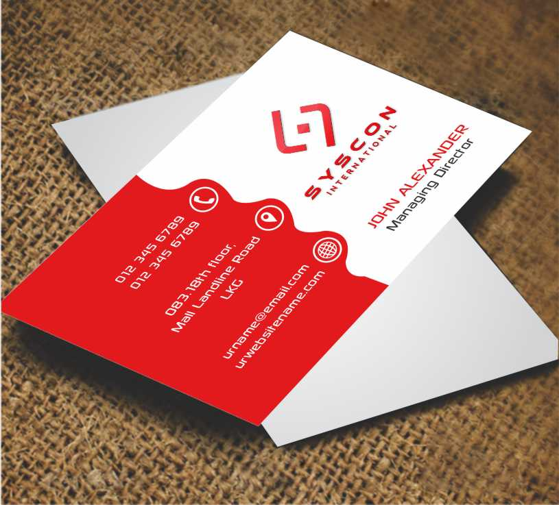 Professional serious business business card design for a company business card design by awsomed for this project design 3711424 reheart Image collections