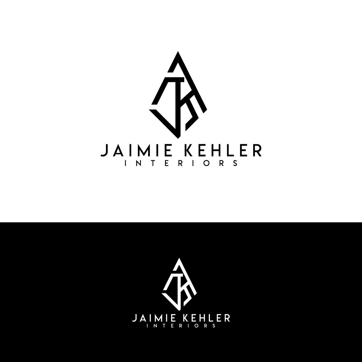 Modern Feminine Interior Design Logo Design For Jaimie